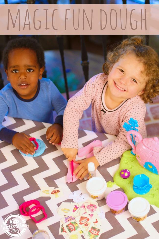 Magic Fun Dough on Kids Activities Blog