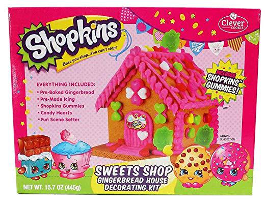 Shopkins gingerbread house