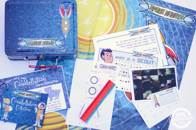 Space Scouts Subscription Activity Box - Kids Activities Blog
