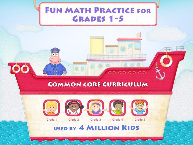 Splash Math Common Core Curriculum Math Grades 1 - 5