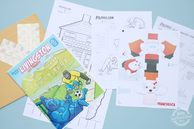 Subscription Boxes for Kids - Foldigo