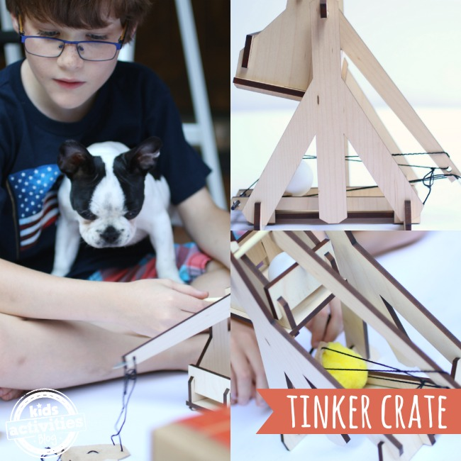 Tinker Crate Subscription Box for kids - Kids Activities Blog