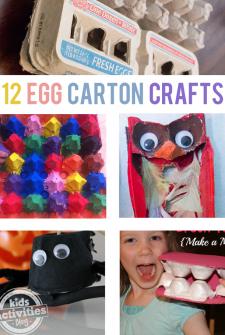 12 {Creative} Egg Carton Crafts