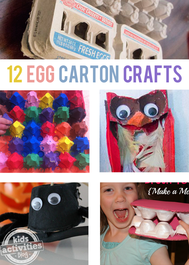 12 {Creative} Egg Carton Crafts