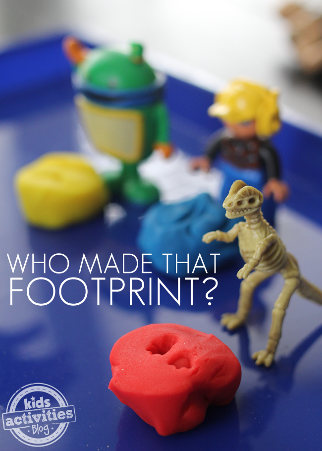 Who Made That Footprint?