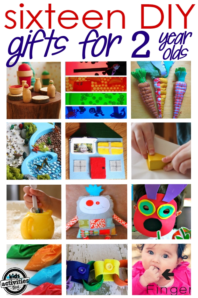 16 adorable homemade gifts for a 2 year old for Easy diy gifts for boys