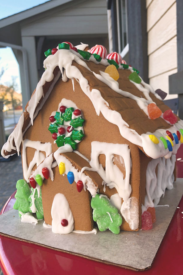 The Best Gingerbread House Glue