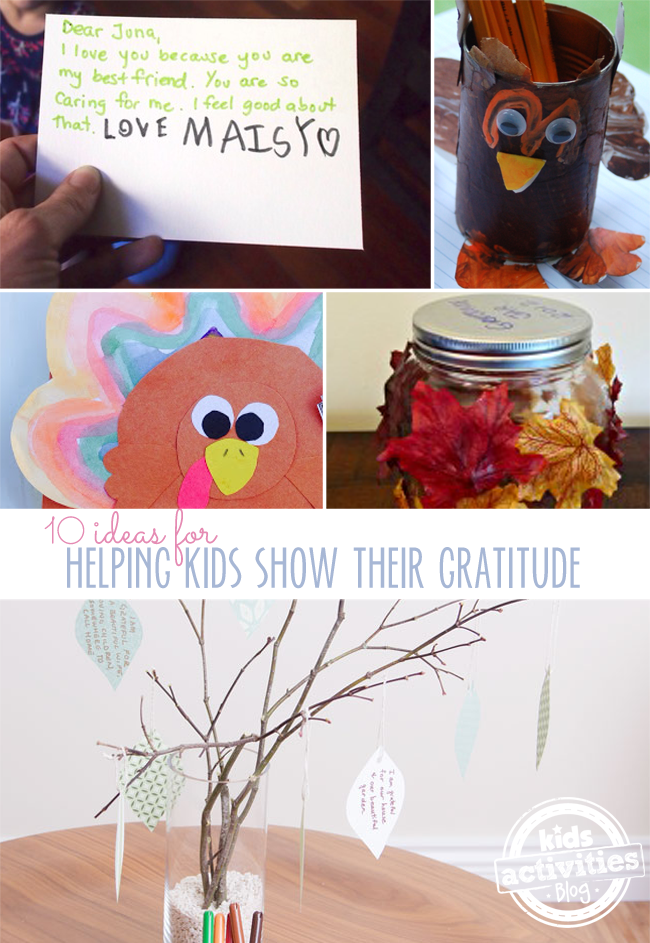 10 Gratitude Activities for Kids