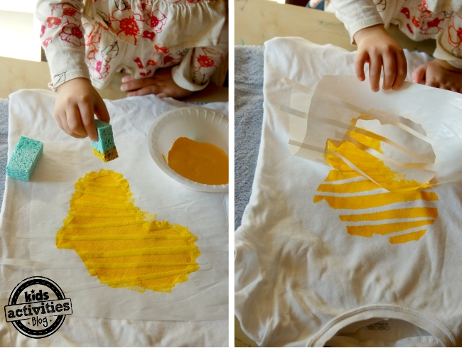 yellow dress painting kits