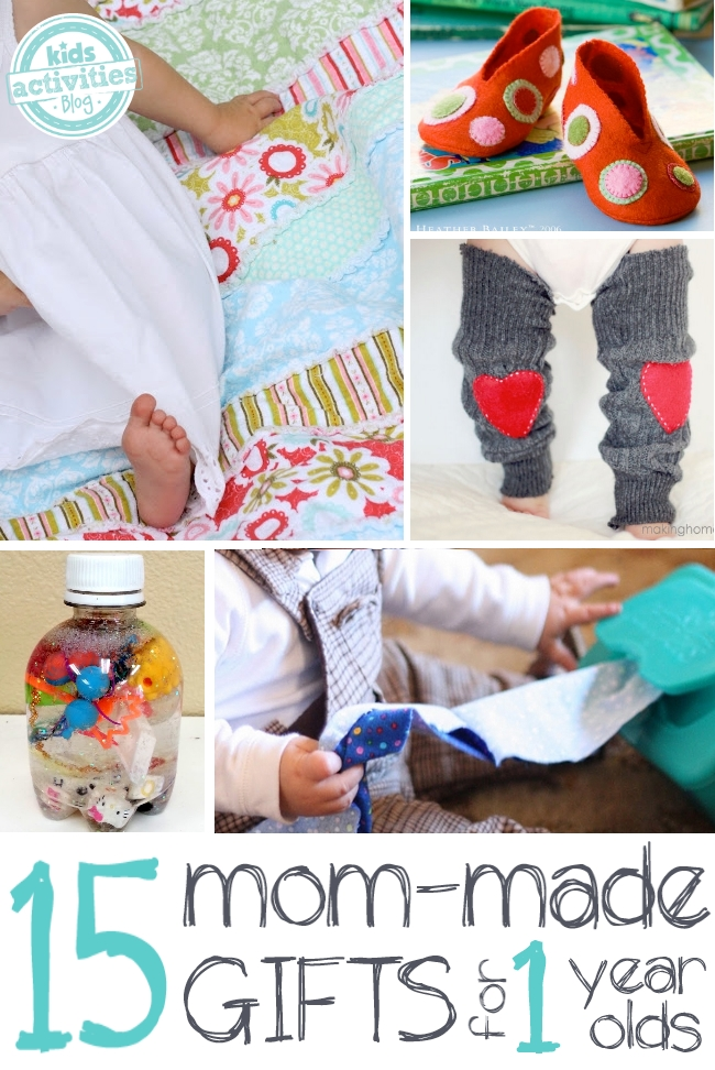 15 precious homemade gifts for a 1 year old for Easy diy gifts for boys