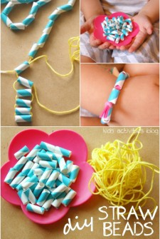 Make DIY Straw Beads