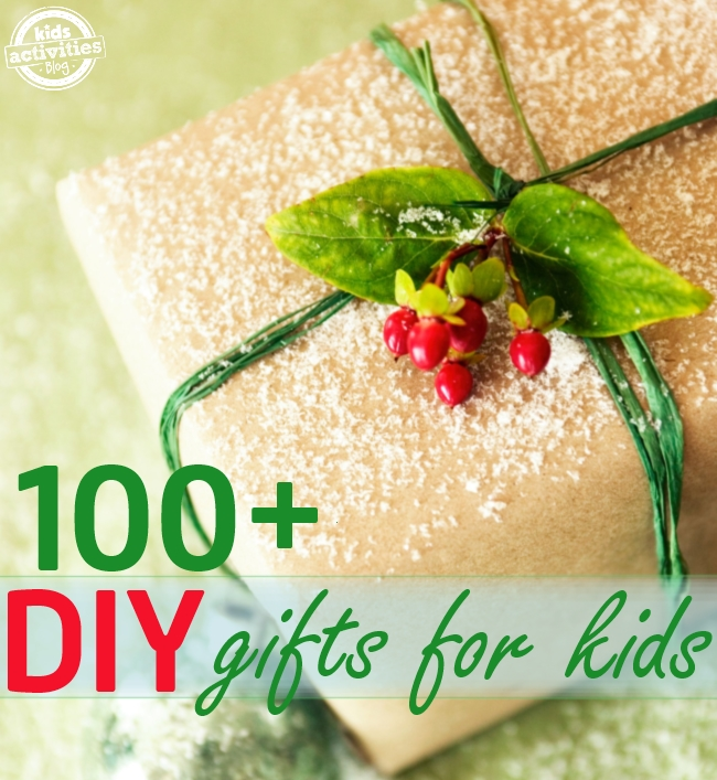 100 DIY gift ideas for kids