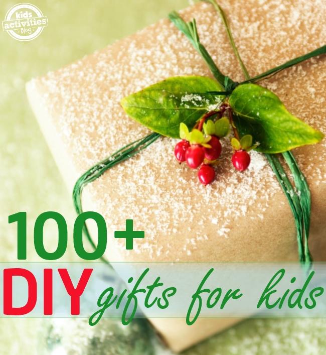 100 DIY gift ideas for kids