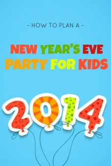 Host a simple and fun New Years Party for Kids
