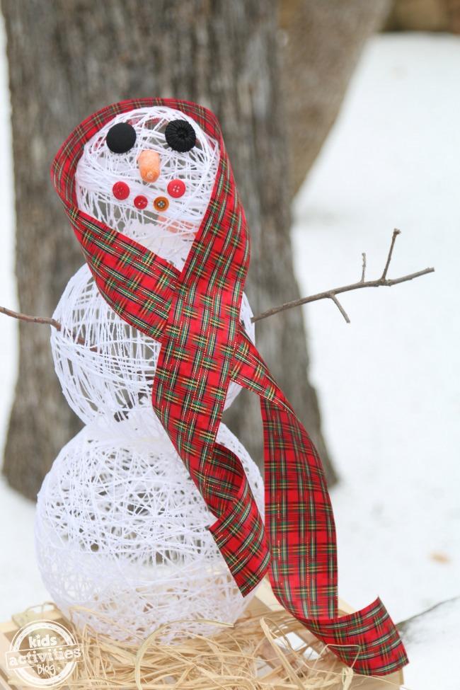 Bonhomme de neige en sucre - Blog d'activités pour enfants