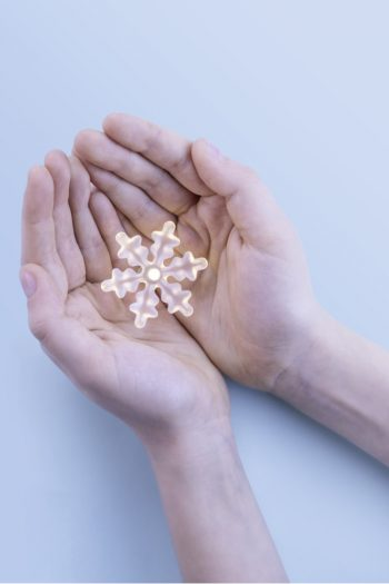 glow in the dark snowflake