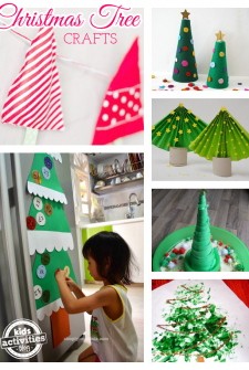 11 Creative Christmas Tree Crafts for Kids