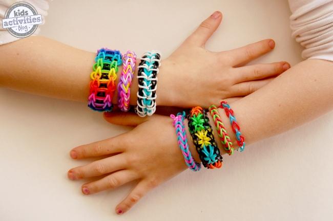 easy rainbow loom bracelets