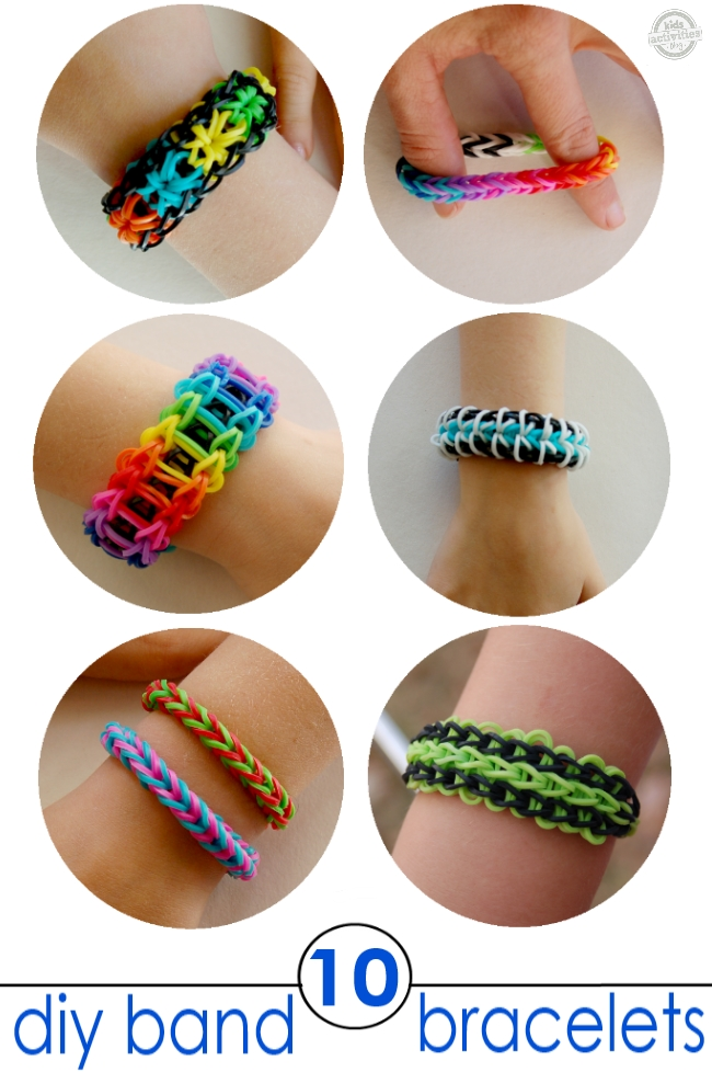 10 Rainbow Loom Bracelets You Must Try