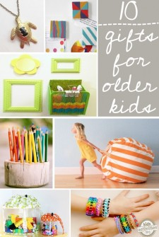 10 DIY Gift Ideas for Older Kids