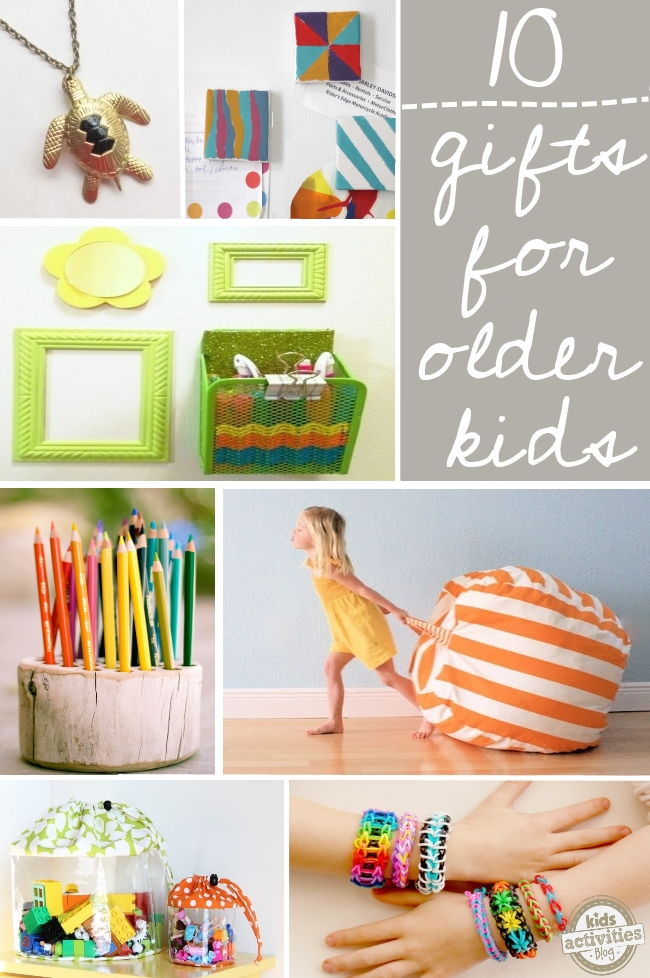 DIY gift Ideas for older kids
