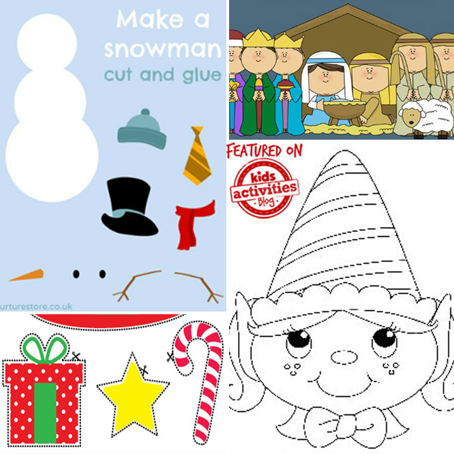 free christmas printables 2 - Holiday Printables For Kids