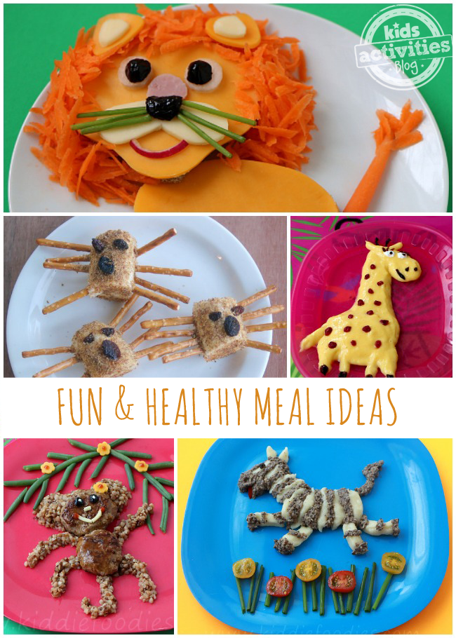 15 Healthy Meal Ideas Presented in FUN Ways!