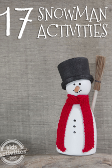 17 {Really Fun} Snowman Activities