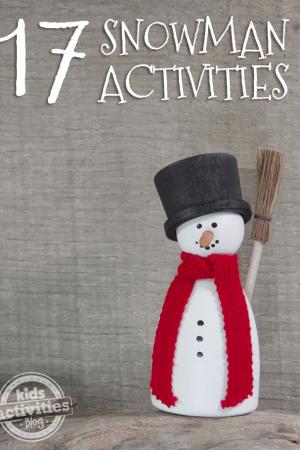17 {Really Fun} Snowman Activities