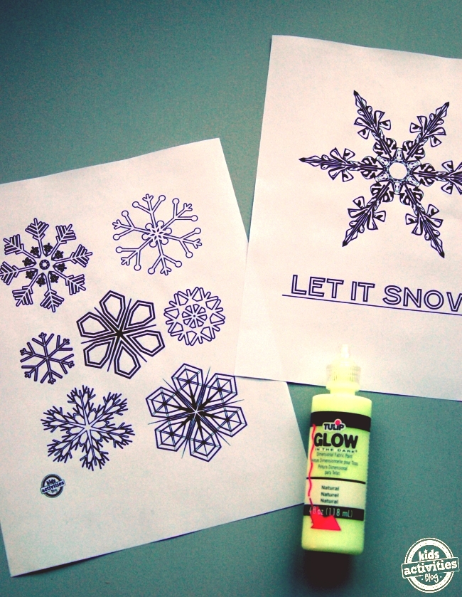 DIY window clings for kids to make