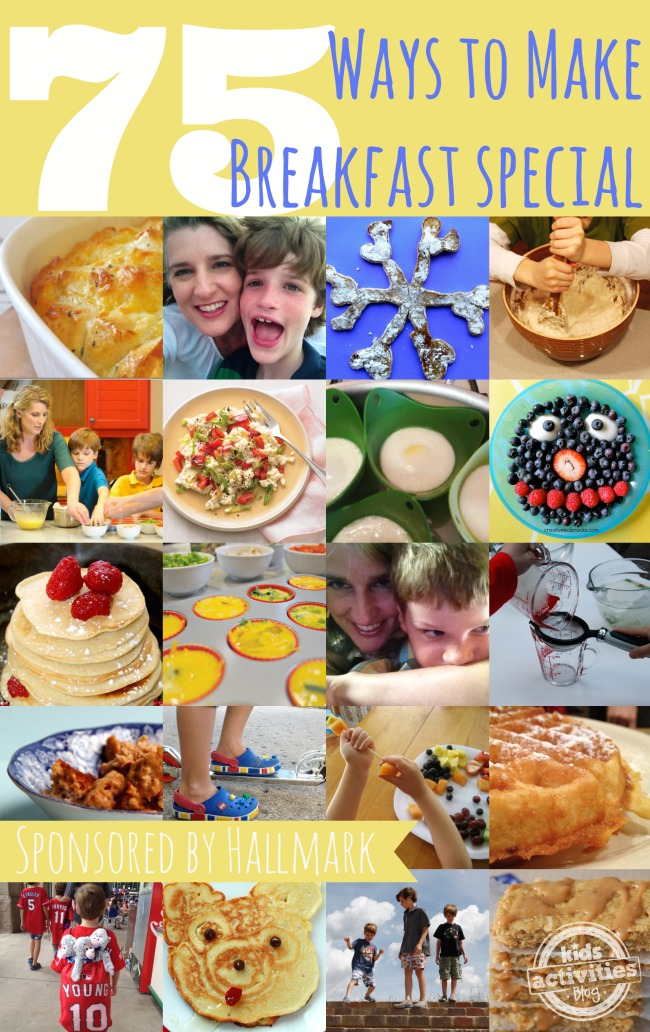 75 Ways to Make Breakfast Special - Kids Activities Blog