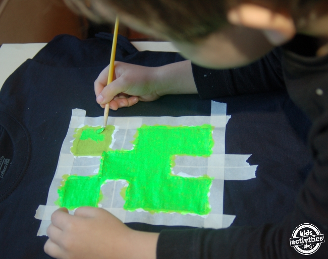 Minecraft Creeper T-Shirt Tutorial