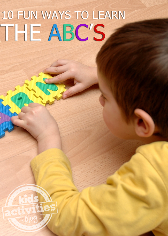 10 Fun Ways to Learn the ABC's