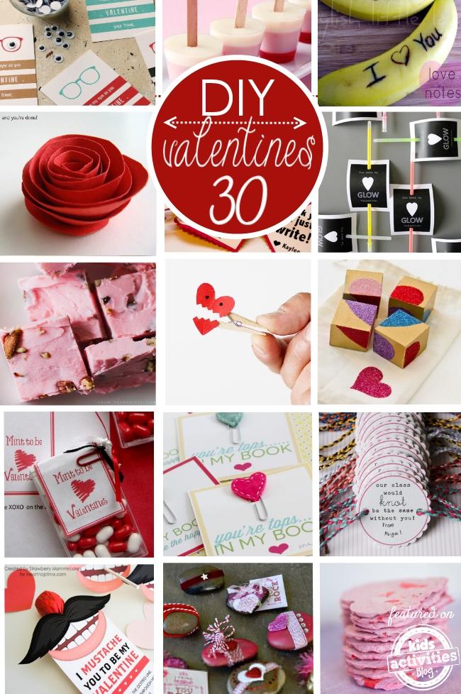 30 DIY Valentines
