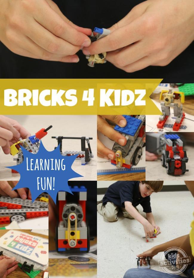 Bricks 4 Kidz - Apprendre en s'amusant - Blog d'activités pour enfants
