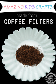 9 {Amazing} Coffee Filter Crafts