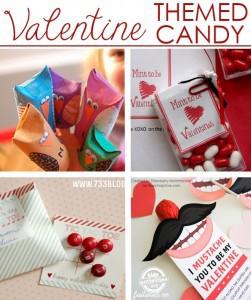 DIY candy Valentines