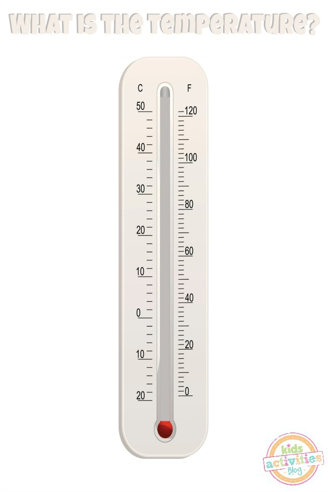 How to Read a Thermometer - Printable for Kids