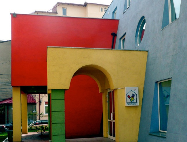 Ronald McDonald House colorful