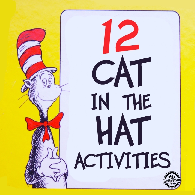12 Cat In The Hat Activities For Kids To Celebrate Dr Suess Birthday
