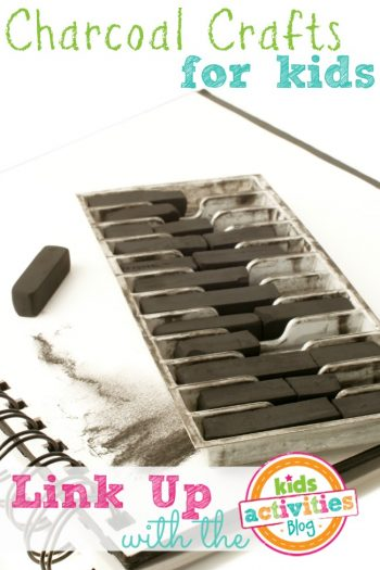 Charcoal Crafts for Kids from the Kids Activities Blog