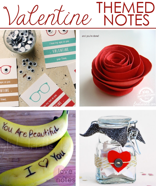 Valentines for the lunchbox