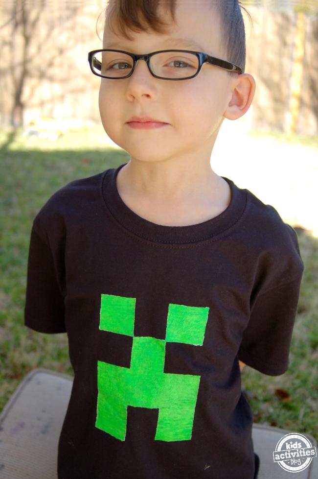 Minecraft Creeper T-Shirt Tutorial