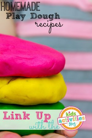 Homemade Play Dough Recipes from Kids Activities Blog