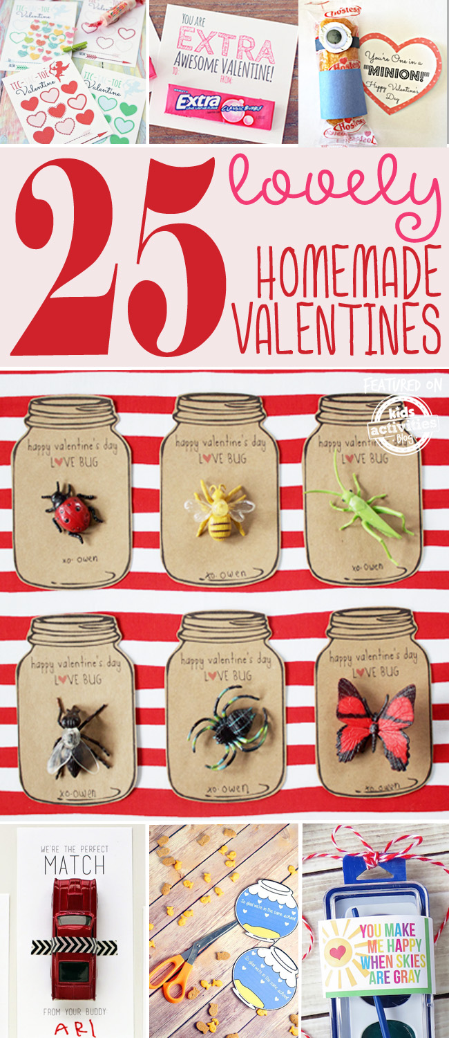 25 lovely homemade valentines - Home Made Valentines