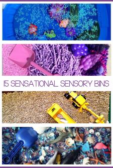 15 {Sensational} Sensory Bins