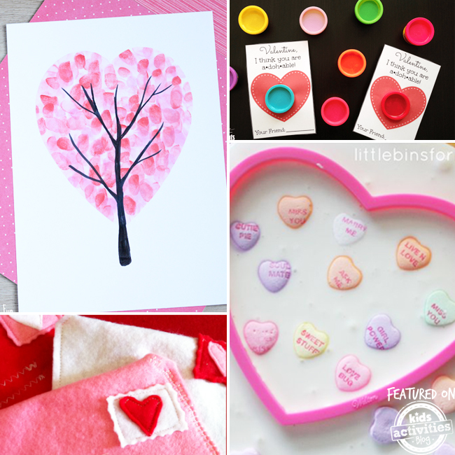 18 Valentines Crafts For Kids