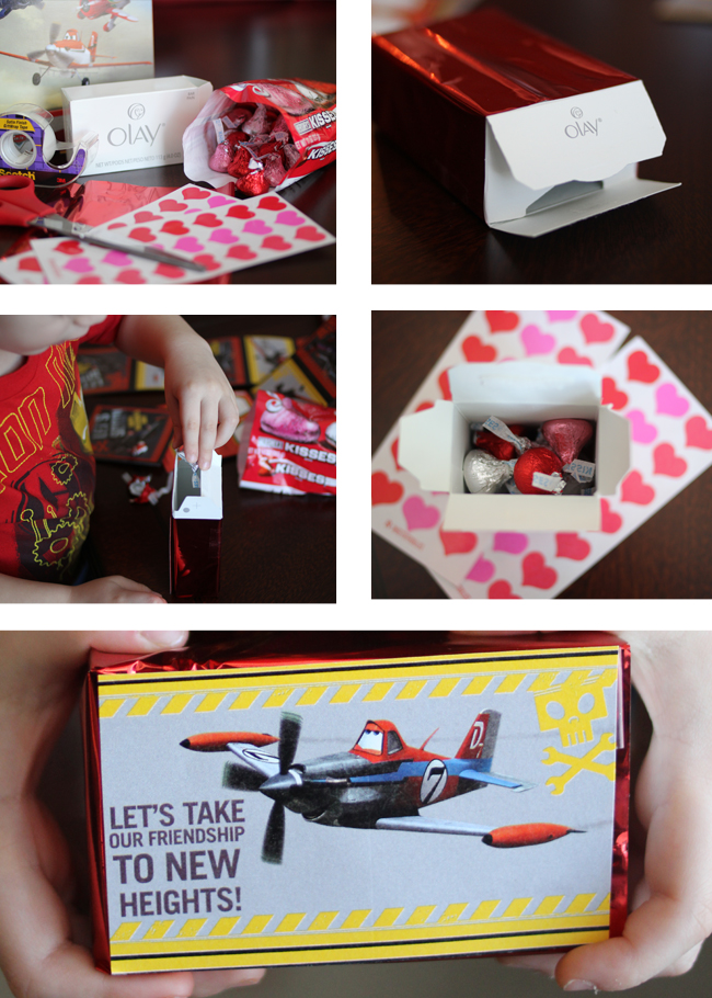 DIY Valentine Box of Chocolates