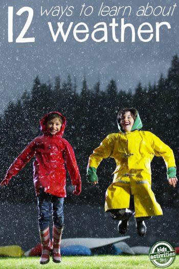 12 weather activities for kids
