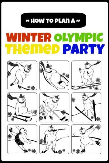 winter olympics party ideas - Kids Activities Blog